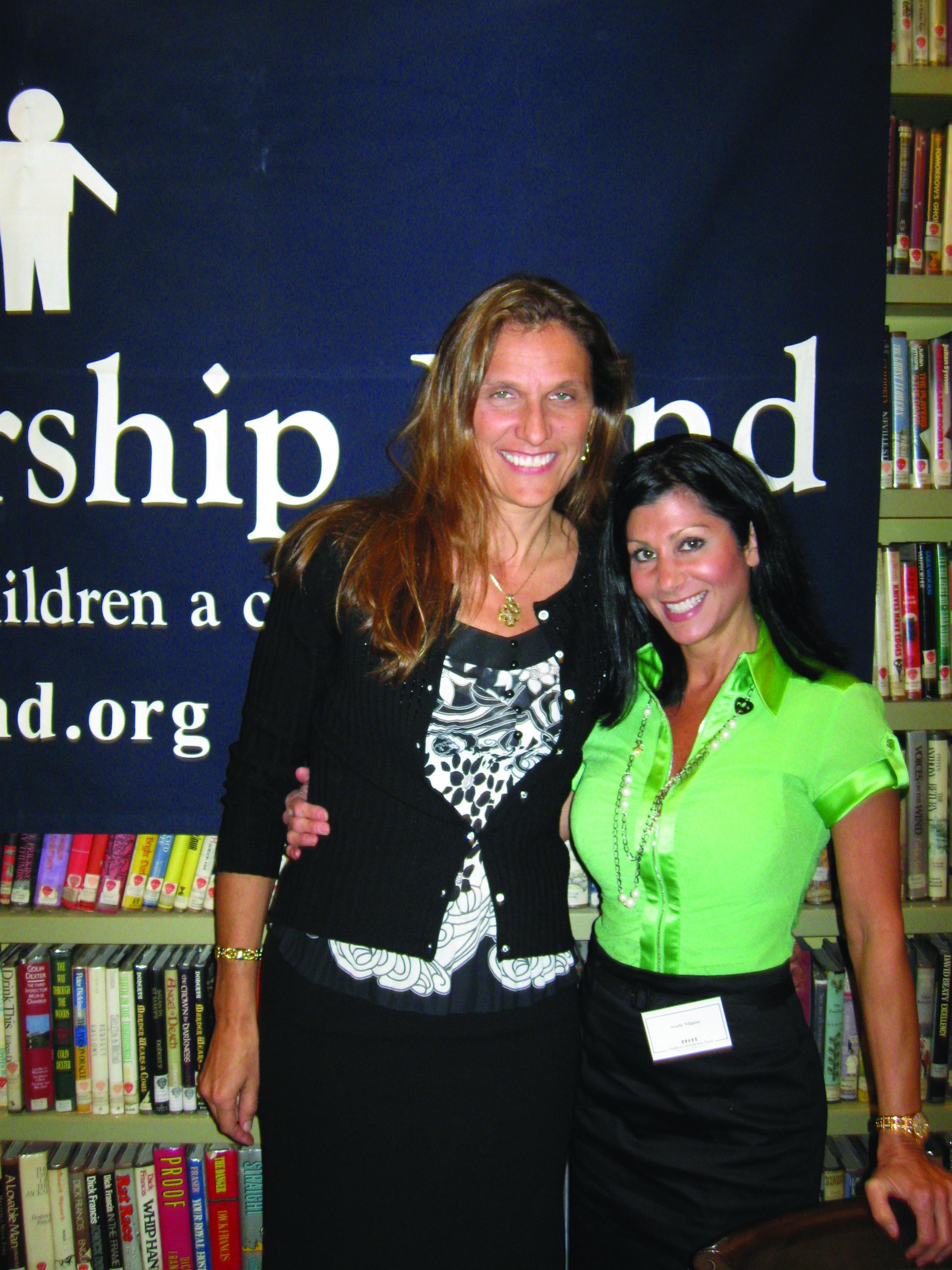 CSF President, Darla Romfo, and Board Member, Noelle Nikpour